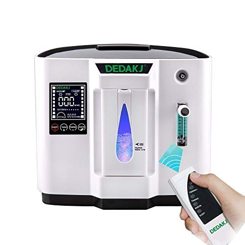 Tragbarer Sauerstoffkonzentrator Generator Sauerstoffmaschine Heimluftreiniger 93% hochreine 1-6 l/min Durchfluss AC 220V Zeitsteuerung für den Heim- und Reisegebrauch (nicht batteriebetrieben)