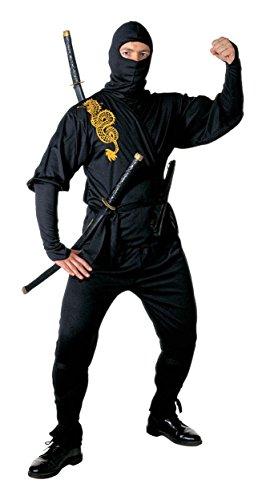 Widmann Déguisement Ninja - Homme Taille : S