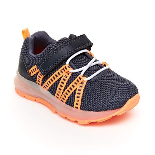 Carter's Boys' Buzz Running Shoe, Grey, 11 M US Little Kid