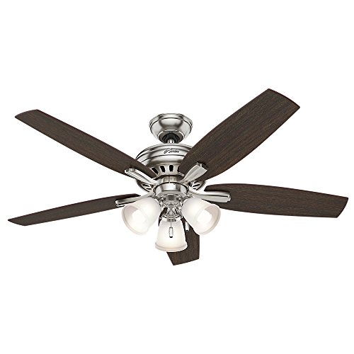 Hunter Fan 53318 Ventilador de Techo con Luz, Newsome, Grande