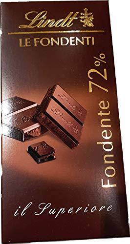 Lindt - Tableta Lindt Le Fondenti con 72% - Paquete de 3 barras + 1 barra de regalo Lindt Excellence Fondente 85%