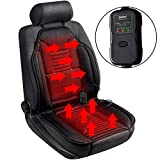 Sojoy Universal 12V Heated Car Seat Heater Heated Cushion Warmer High/Low/Temp Switch, 45
