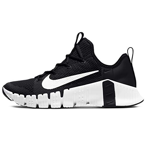 Nike Zapatos de entrenamiento Metcon 3 para mujer, negro (negro, blanco, (Black/White-volt)), 36.5 EU