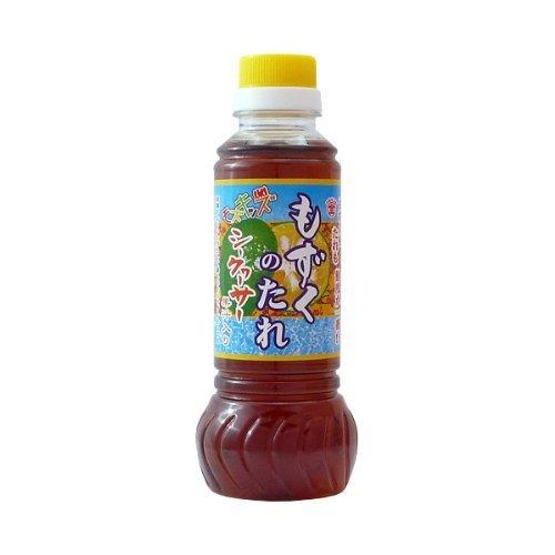 もずくのたれシークヮーサー果汁入り280ml×2本 マルキン海産