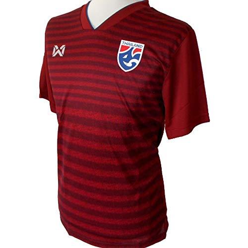 Warrix Tailandia - Camiseta de fútbol para hombre (talla S/M (Asia-L))