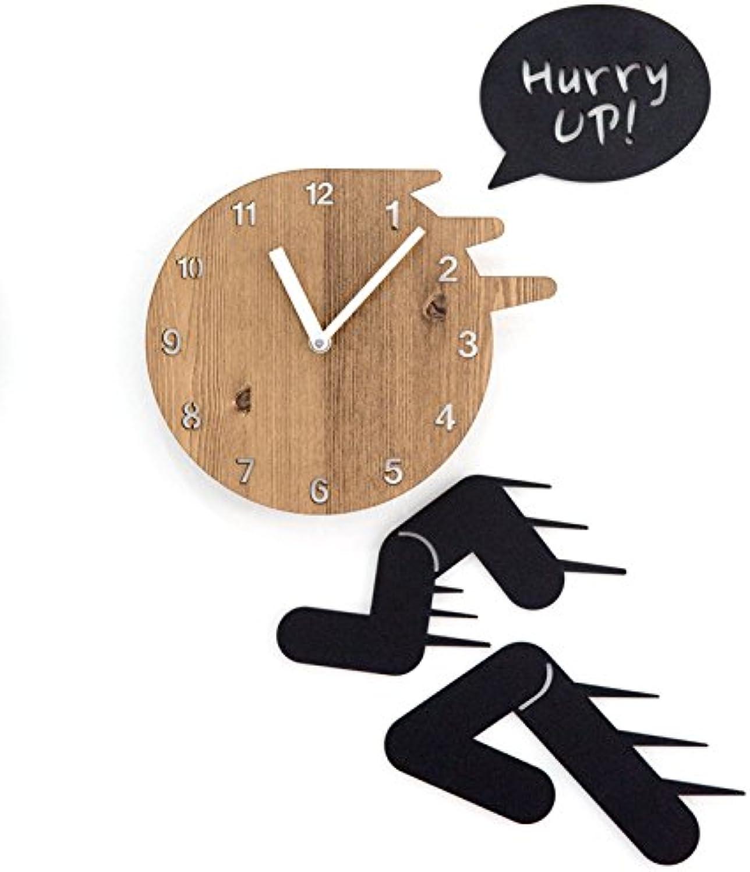 entrega rápida Reloj Reloj Reloj Creativo Reloj De Parojo Sala De Estar Moderna Personalidad Arte Café Reloj De Parojo Silencioso  tienda en linea