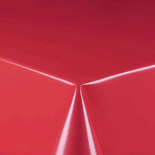 d-c-fix Partytischdecke Lackfolie Tischdecke 100 x 250 cm Rot abwaschbar Lebensmittelecht