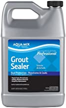 Aqua Mix Grout Sealer Dual Protecion - Penetrates and Coats 1 Gallon