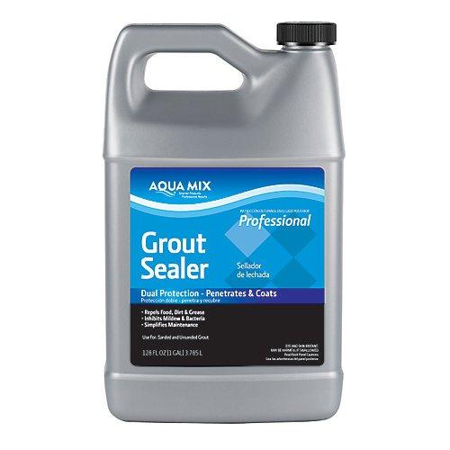 Aqua Mix Grout Sealer Dual Protecion - Penetrates and Coats 1 Gallon