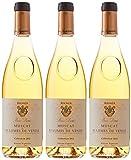 BOIS DORE Vin Blanc Liquoreux AOP Muscat de Beaumes de Venise Collection 2010 75 cl - Lot de 3