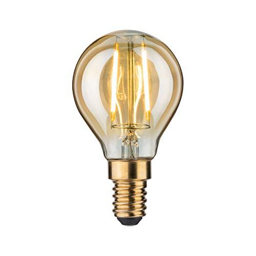 Paulmann 283.67 LED Tropfen 2,5W E14 230V Gold Warmweiß 28367 Leuchtmittel Lampe