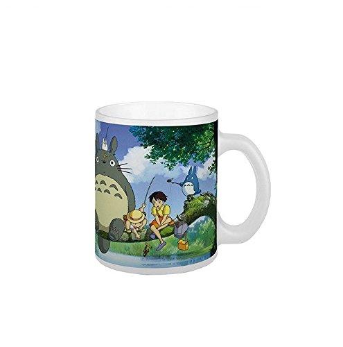 Mein Nachbar Totoro - Studio Ghibli - Premium Keramik Tasse - Totoro, Satsuki & Mei - Geschenkbox
