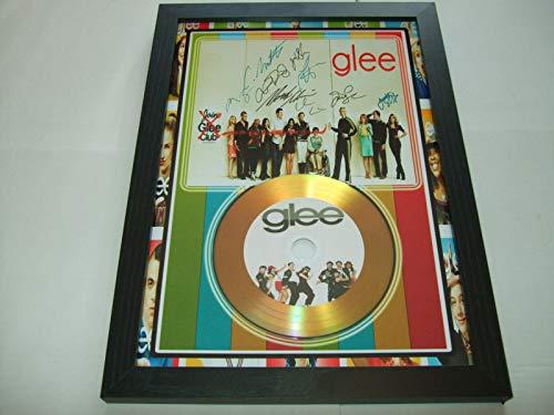 Signierte Mini-Scheibe von Glee