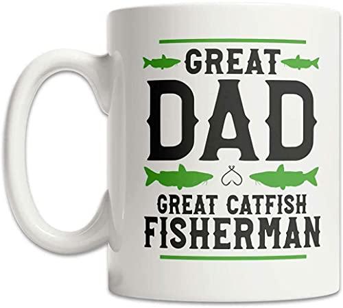 Bagre Fisherman - Taza de pesca para el día del padre