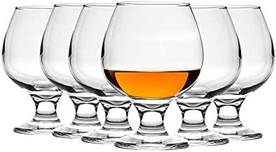 Argon Tableware Brandy/Cognac Snifter Glasses - 390ml (13.7oz) - Pack of 6 Glasses