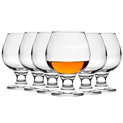 Copas de balón para brandy/coñac - 390ml - Pack de 6