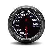 JCYM Messgeräte für Autos 52 MM Auto Öltemperaturanzeige 40-140C Weißlicht Öltemperaturanzeige Auto Meter Mit Sensor Automotive-Messgeräte