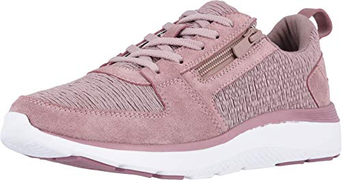 Vionic Women's Delmar Remi Walking Shoes - Ladies Casual Sneakers with Concealed Orthotic Arch Support Blush 6 Medium US