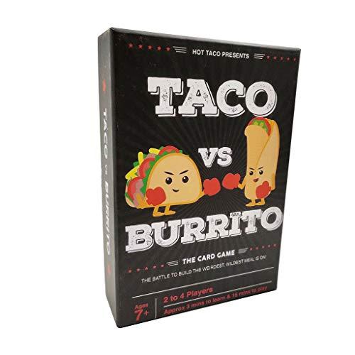 RWX Juego De Cartas De Taco Vs Burrito, Un Juego De Mesa...