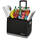 Knox Electric Travel Cooler and Warmer – 47 Quart (60 Cans) Portable Fridge with AC and DC Power...