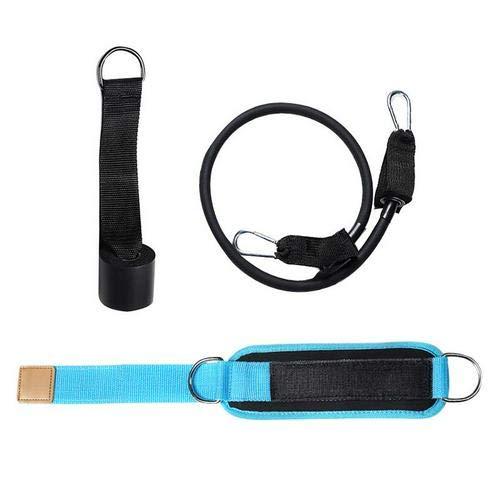 YMBH Trek het touw op de deur om je benen, billen, fitness, elastische banden, enkelbanden, gespenkoord te trainen