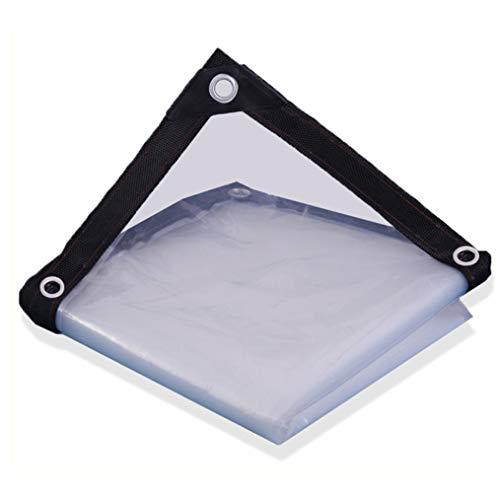 HRFHLHY helder dekzeil vel transparante film waterdichte plastic thermische isolatie met ogen niet giftig voor planten