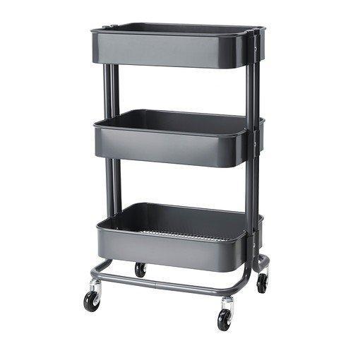 IKEA RASKOG - Cocina carro, gris oscuro - 35x45x78 cm