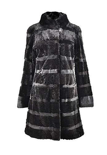 Zerimar Abrigo Largo Vison Peletería | Abrigo Largo de Pelo | Abrigo Mujer | Abrigo de Pelo | Abrigo de Mujer de Pelo | Abrigo Elegante Mujer