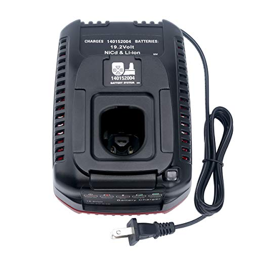 Lithium-Ion & Ni-cad Battery Charger for Craftsman DieHard C3 19.2 Volt XCP...