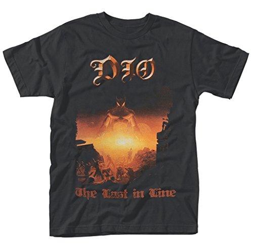 Dio Ronnie James Dio Last In Line Rock ufficiale Uomo maglietta unisex (Medium)