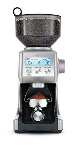 Sage Appliances SCG820 the Smart Grinder Pro, Kaffeemühle, Gebürsteter Edelstahl