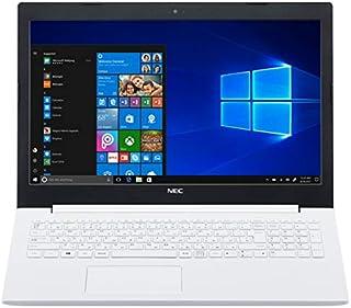 【MS Office搭載・セキュリティソフトセット】NEC LAVIE Smart NS Windows10 Home 64bit Celeron N4000 4GB 500GB DVDスーパーマルチ 高速無線LAN IEEE802.11ac/a/b/g/n Bluetooth webカメラ USB3.0 HDMI SDカードスロット 10キー付日本語キーボード Microsoft Office Home and Business 2016搭載 15.6型LED液晶ノートパソコン (カームホワイト)
