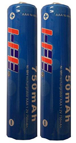 2er Pack Akku NIMH HFE 750mAH passend für Gigaset Mobilteile