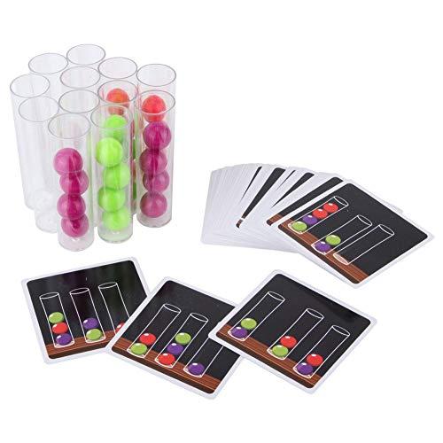 Speed Logic Game Ball Inference Logic Thinking Test Tube Game Para Niños, Juguete Educativo Temprano