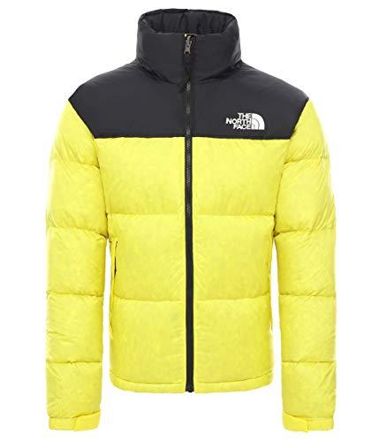 THE NORTH FACE Herren Daunenjacke 1996 Retro Nuptse, Größe:S, Farbe:TNF Lemon