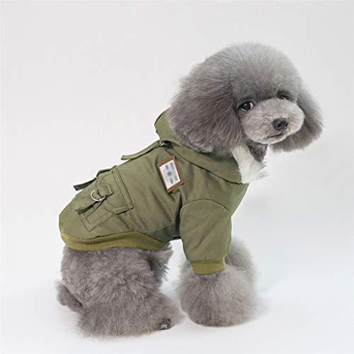 XZJJZ Súper cálido con Abrigo para Mascotas, Chaqueta para Perros, Ropa para...