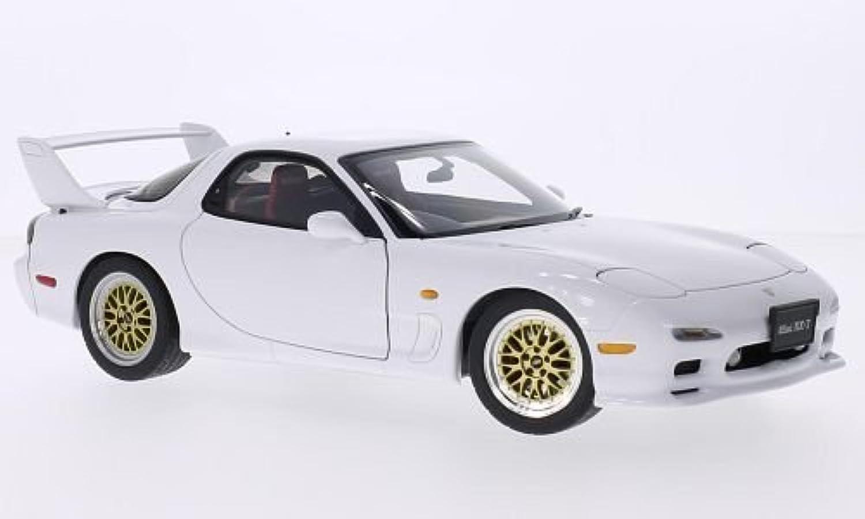 Mazda Efini RX-7 (FD), weiss, RHD, 1991, Modellauto, Fertigmodell, AUTOart 1 18