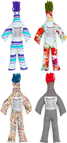 Dammit Doll - The Fantastic Foursome- Set of Four Random Stress Relief - Gag Gift