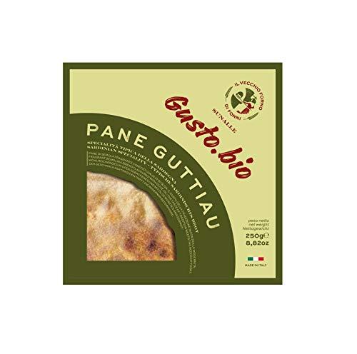 250 gr - Pane Guttiau. All'olio extra vergine di oliva prodotto da Il vecchio Forno di Fonni....