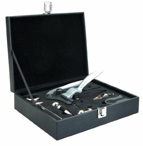Ibili 781601 - Cofanetto accessori per vino, 9 pezzi