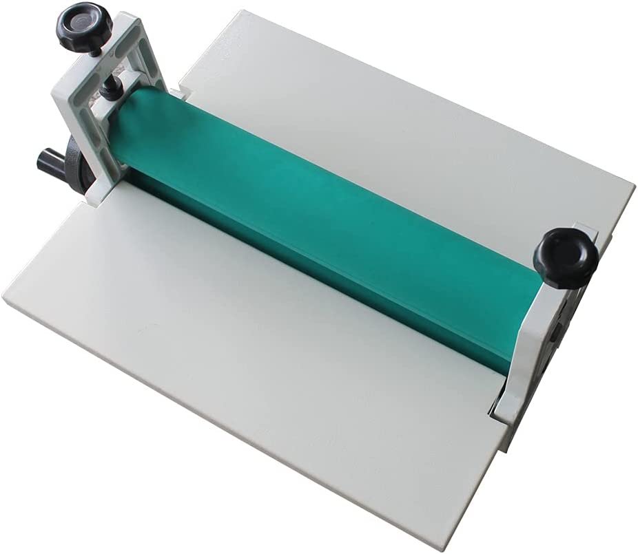 Detroit Mall online shopping 14In Manual All Metal Frame Mount Laminating Roll Cold Laminator
