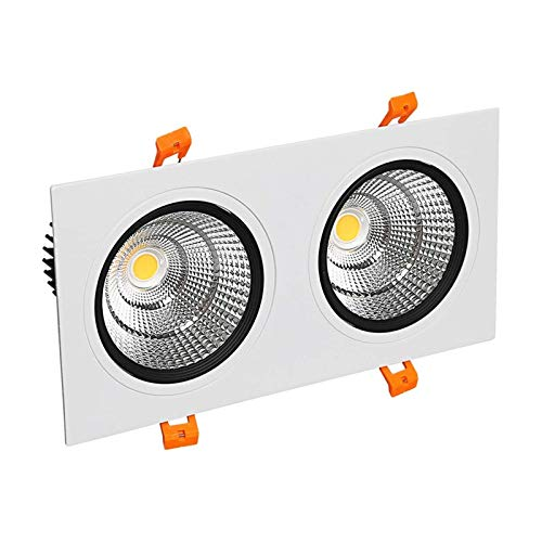 Led de doble cabezal Downlight Pasillo Pasillo Pared de fondo 10W 3...