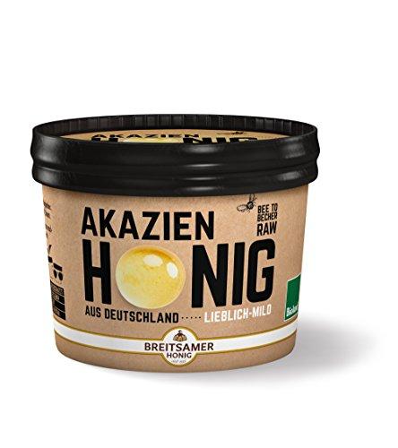 Breitsamer Bio-Honig aus Deutschland Akazie flüssig, 315 g