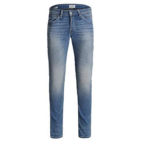 Jeans JACK&JONES Hombre EU28/L32 Azul 12175478 Jjiglenn JJFOX JJ 241 I.K ESP
