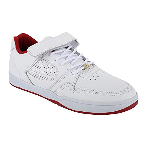éS Skateboarding Schuhe Accel Slim Plus (White) US 8,5