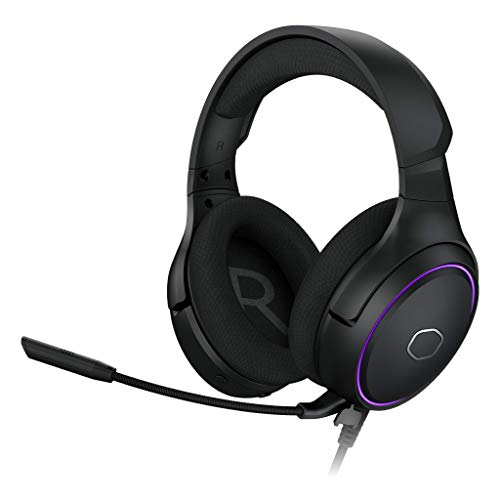 Cooler Master MH650 Gaming Headset with RGB Illumination, Virtual 7.1 Surround Sound, Omnidirectional Mic, and USB Connectivity