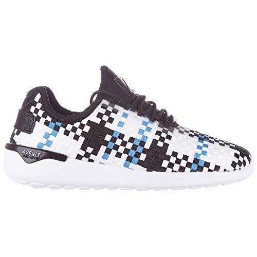Asfvlt Damen Sneaker White - Black - Blue 36 EU