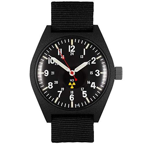 Black General Purpose Tritium Field Watch - MW769-A