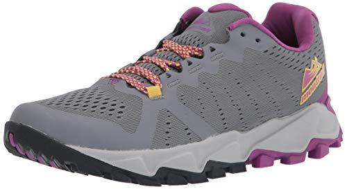 Columbia womens Trans Alps F.k.t. Iii Sneaker, Grey Ash/Berry Jam, 9.5 US