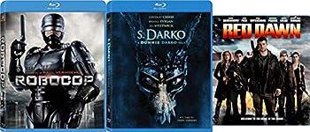 Sci-Fi Blu-ray Action Bundle Paul Verhoeven s Robocop  Unrated Director s Cut  Red Dawn  2012  & S Darko  A Donnie Darko Tale 3-Movie Bundle